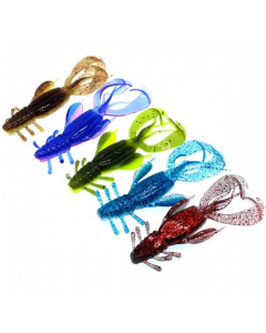 10CM/10.5G-Soft-Plastic-Craws-For-Fishing-Is-Commonly-Used-In-Rivers-And-Lakes