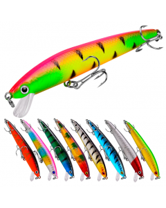 9.5CM-Micro-Scales-Minnow-With-Tow-Treble-Hooks