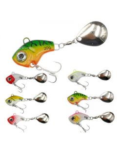 Bladed Swimbait With Tail Spinner(2/set)